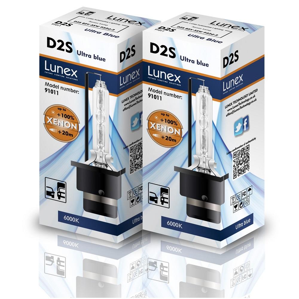 2 x D2S Genuine XENON BULB HID Car Headlight Compatible 85122 66040 66240 53500