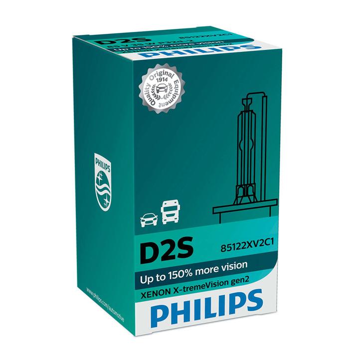 D4S Philips Xenon X-treme Vision gen2 42402XV2S1 HID Phare Voiture Ampoule Simple