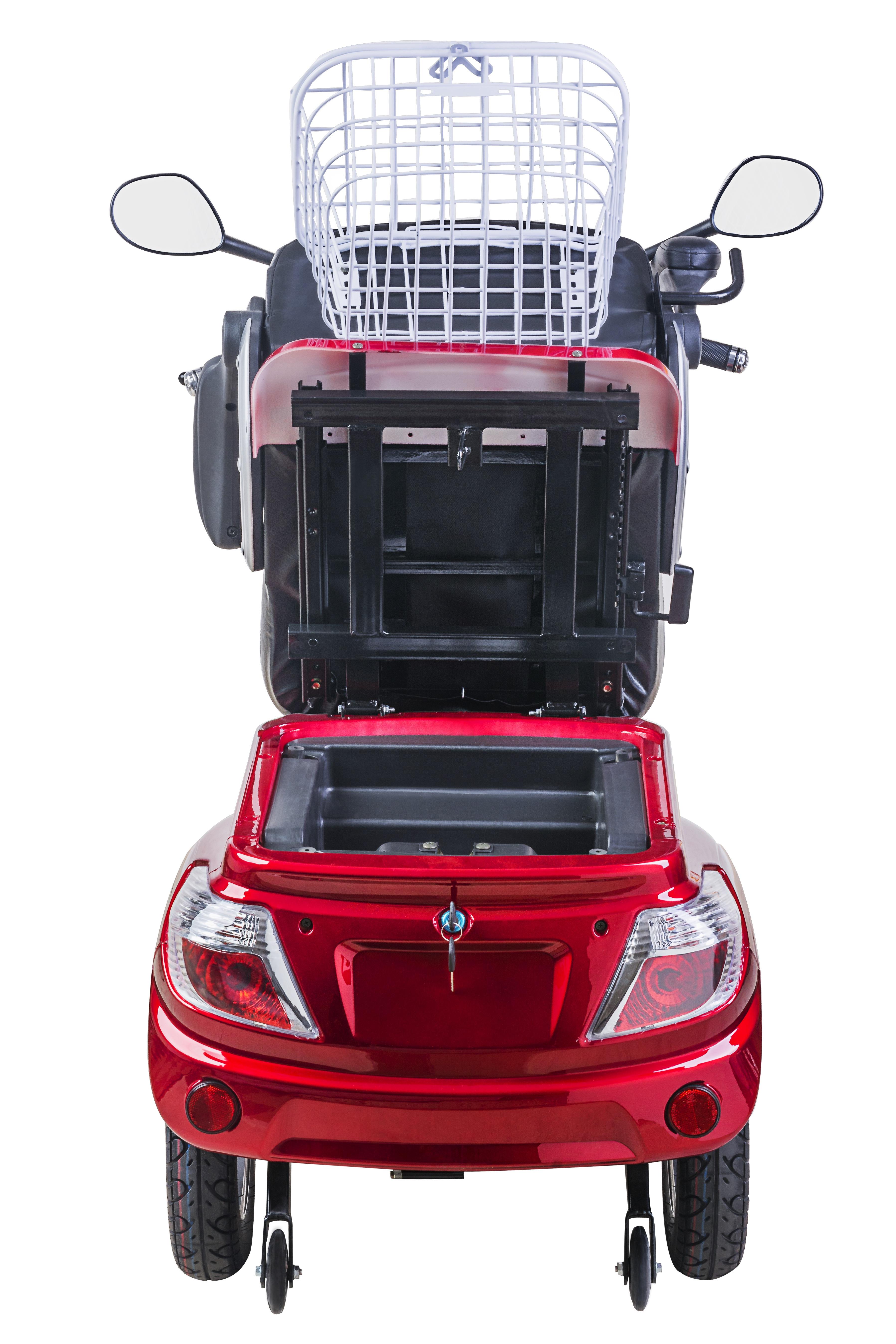 neu dreirad elektroroller elektromobil 25 km h led. Black Bedroom Furniture Sets. Home Design Ideas