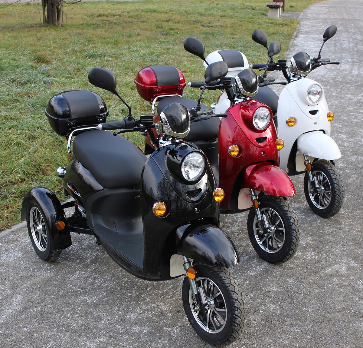 stilvoll 3 rad elektromobil roller e scooter seniorenmobil. Black Bedroom Furniture Sets. Home Design Ideas